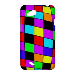 Colorful cubes  HTC Desire VC (T328D) Hardshell Case