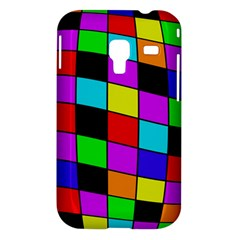 Colorful cubes  Samsung Galaxy Ace Plus S7500 Hardshell Case