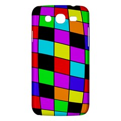 Colorful cubes  Samsung Galaxy Mega 5.8 I9152 Hardshell Case