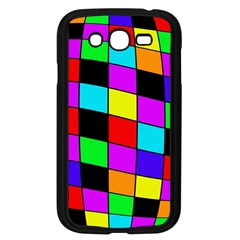 Colorful cubes  Samsung Galaxy Grand DUOS I9082 Case (Black)