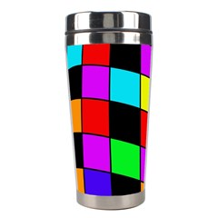 Colorful cubes  Stainless Steel Travel Tumblers