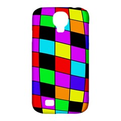 Colorful cubes  Samsung Galaxy S4 Classic Hardshell Case (PC+Silicone)