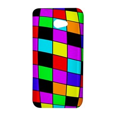 Colorful cubes  HTC Butterfly S/HTC 9060 Hardshell Case