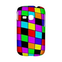 Colorful cubes  Samsung Galaxy S6310 Hardshell Case