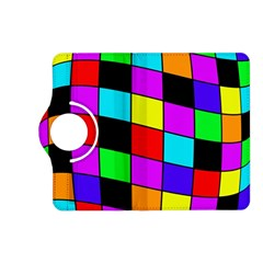Colorful cubes  Kindle Fire HD (2013) Flip 360 Case