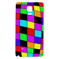 Colorful cubes  Galaxy Note 4 Back Case