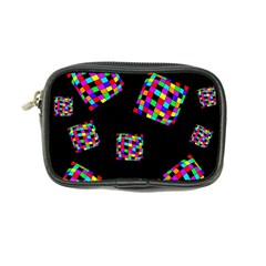 Flying  colorful cubes Coin Purse