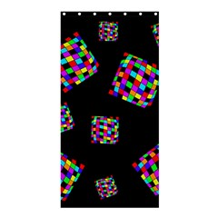 Flying  colorful cubes Shower Curtain 36  x 72  (Stall)