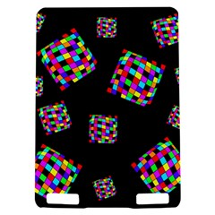 Flying  colorful cubes Kindle Touch 3G