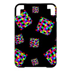 Flying  colorful cubes Kindle 3 Keyboard 3G