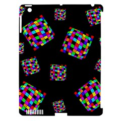 Flying  colorful cubes Apple iPad 3/4 Hardshell Case (Compatible with Smart Cover)