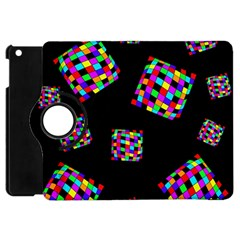 Flying  colorful cubes Apple iPad Mini Flip 360 Case