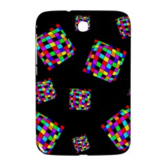 Flying  colorful cubes Samsung Galaxy Note 8.0 N5100 Hardshell Case