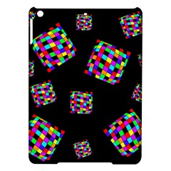 Flying  colorful cubes iPad Air Hardshell Cases