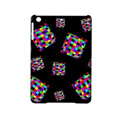 Flying  colorful cubes iPad Mini 2 Hardshell Cases