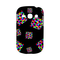 Flying  colorful cubes Samsung Galaxy S6810 Hardshell Case