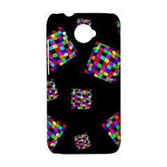 Flying  colorful cubes HTC Desire 601 Hardshell Case