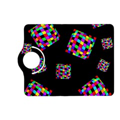 Flying  colorful cubes Kindle Fire HD (2013) Flip 360 Case