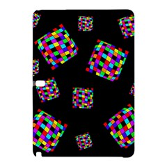 Flying  colorful cubes Samsung Galaxy Tab Pro 10.1 Hardshell Case