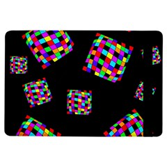 Flying  colorful cubes iPad Air Flip