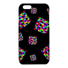 Flying  colorful cubes iPhone 6/6S TPU Case