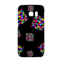 Flying  colorful cubes Galaxy S6 Edge