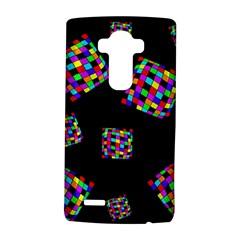 Flying  colorful cubes LG G4 Hardshell Case