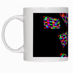 Colorful abstraction White Mugs