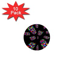 Colorful abstraction 1  Mini Magnet (10 pack)