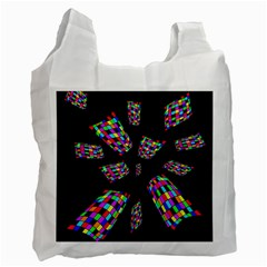 Colorful abstraction Recycle Bag (One Side)