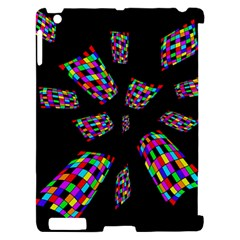 Colorful abstraction Apple iPad 2 Hardshell Case (Compatible with Smart Cover)