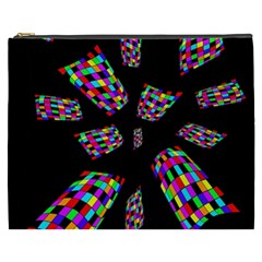 Colorful abstraction Cosmetic Bag (XXXL)