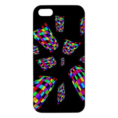 Colorful abstraction Apple iPhone 5 Premium Hardshell Case