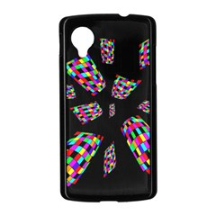 Colorful abstraction Nexus 5 Case (Black)