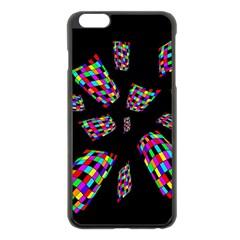Colorful abstraction Apple iPhone 6 Plus/6S Plus Black Enamel Case