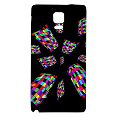 Colorful abstraction Galaxy Note 4 Back Case