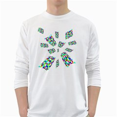 Colorful abstraction White Long Sleeve T-Shirts