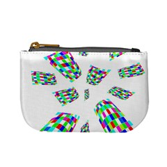 Colorful abstraction Mini Coin Purses