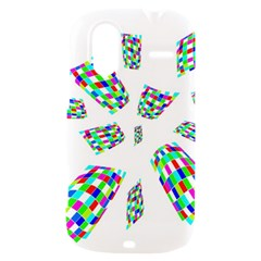 Colorful abstraction HTC Amaze 4G Hardshell Case
