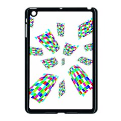 Colorful abstraction Apple iPad Mini Case (Black)