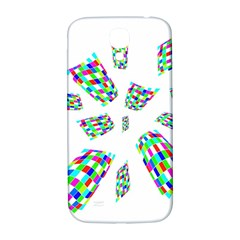 Colorful abstraction Samsung Galaxy S4 I9500/I9505  Hardshell Back Case