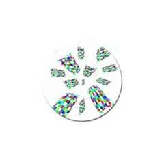 Colorful abstraction Golf Ball Marker (10 pack)