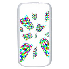 Colorful abstraction Samsung Galaxy S III Case (White)