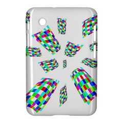 Colorful abstraction Samsung Galaxy Tab 2 (7 ) P3100 Hardshell Case
