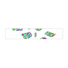 Colorful abstraction Flano Scarf (Mini)
