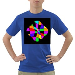 Abstract colorful flower Dark T-Shirt