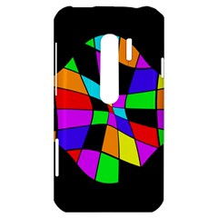 Abstract colorful flower HTC Evo 3D Hardshell Case