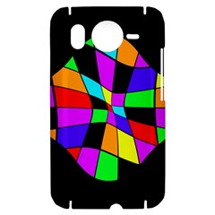Abstract colorful flower HTC Desire HD Hardshell Case