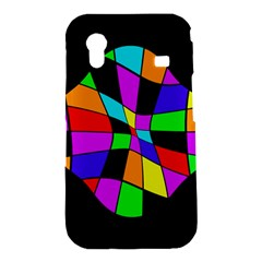 Abstract colorful flower Samsung Galaxy Ace S5830 Hardshell Case