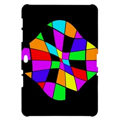 Abstract colorful flower Samsung Galaxy Tab 10.1  P7500 Hardshell Case